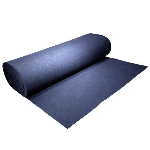 Acrylic Felt by the Yard 72'' Wide X 20 YD Long: Navy Blue