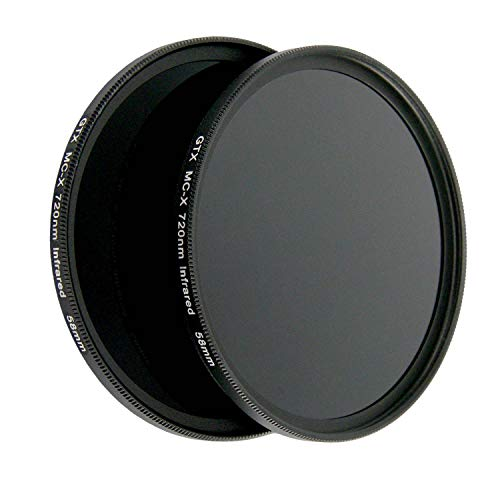 58mm X-Series IR720 IR 720nm Infrared Filter for Camera Lens Digital DSLR SLR
