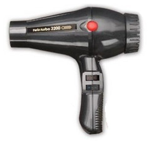 UPC 709545218757, Turbo Power 324A Twinturbo 3200 Professional Black Salon Hair Dryer