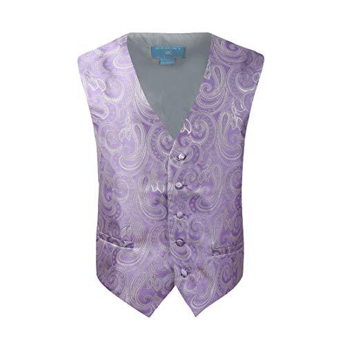 Epoint EGC1B0103 Multi Mens Paisley Waistcoat Woven Microfiber S5XL Vest