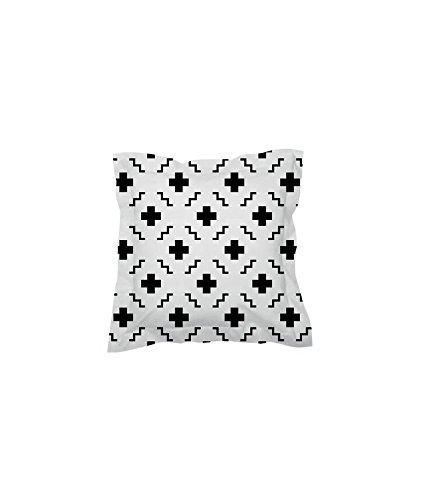 sisomdos funda de almohada 65 x 65 cm Paris blanco y negro ...