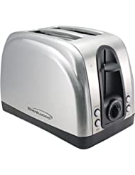 Brentwood Ts-225S 2-Slice Elegant Toaster with Brushed Stainless Steel Finish Electronic Consumer by Brentwood