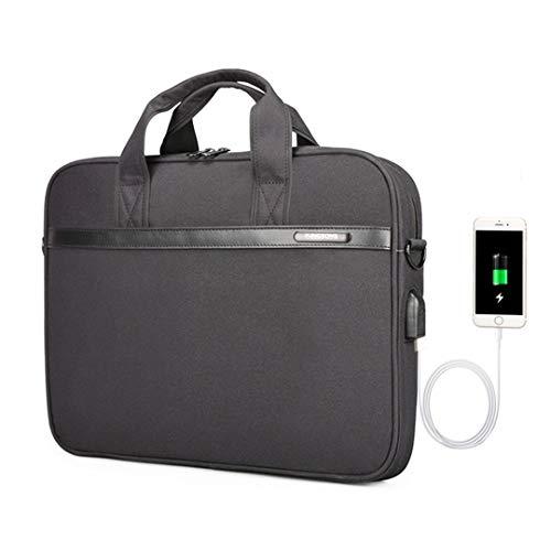 - 11'' 12'' 13'' 14'' 15'' Laptop Sleeve Bag Waterproof Notebook Tablet Bags Case Messenger Shoulder Black 15 Inches