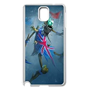 Samsung Galaxy Note 3 Cell Phone Case White League of Legends Union Jack Fiddlesticks Thbhu