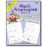 Math Analogies Beginning (Grades K-1)