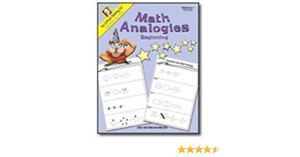 Counting Number worksheets math and money worksheets : Math Analogies Beginning (Grades K-1): Linda Brumbaugh, Doug ...