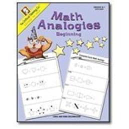 math worksheet : math analogies beginning grades k 1  linda brumbaugh doug  : Math Analogies Practice Worksheet
