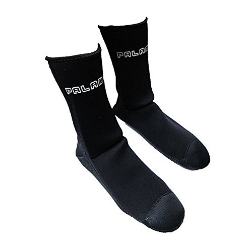 Palantic Black 3mm Neoprene Socks with Extra Warmth Titanium Coating from Palantic
