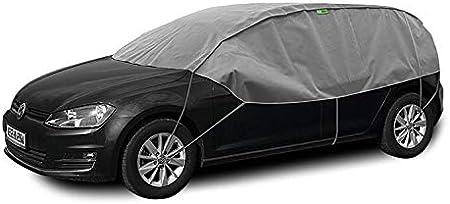 Abdeckplane Halbgarage Sonneschutz Schneeschutz Uv Schutz Winter Sommer Größe M L Kompatibel Mit Audi A3 Sportback 8p Auto