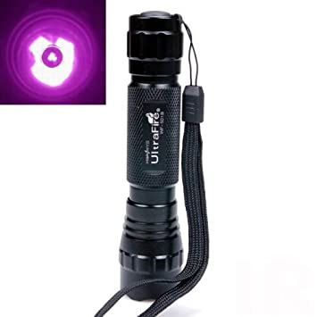 Ultrafire Wf-501b Cree Infrared Ir 3w LED Night Vision Flashlight Torch