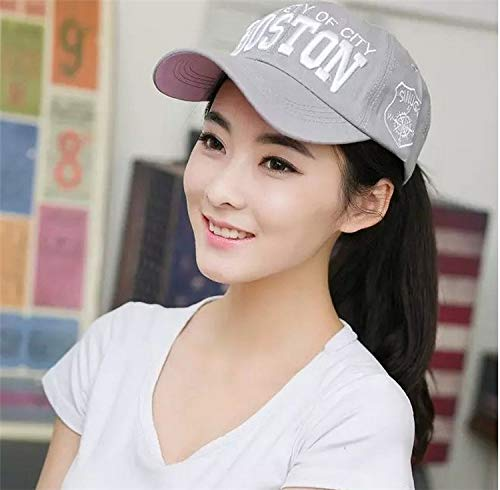 Unique Fashion Lovers hat Cap Base Cap Tide Men Man Hip-hop, Benn Flat Along Brimmed hat Autumn Winter Fashion (Boston Gray