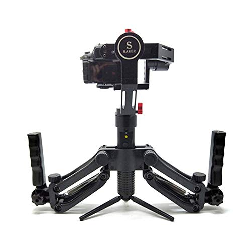 4.5Kg Load 5 Axis Stabilizer Gimbal for Zhiyun Crane 2 Plus Feiyu Adjustable Springs Dual Hand Grips Handle