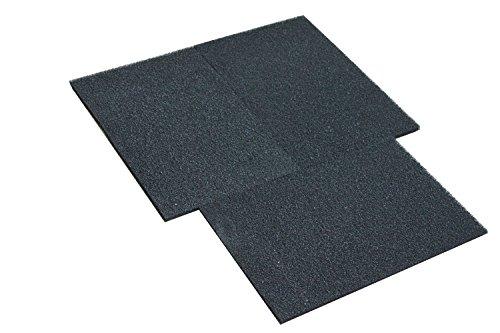 Genérico -Esponja de filtrado, estera de filtrado 45CM x 32CM carbón activo (3 unidades) HuaxinYicheng Trade Co. Ltd.