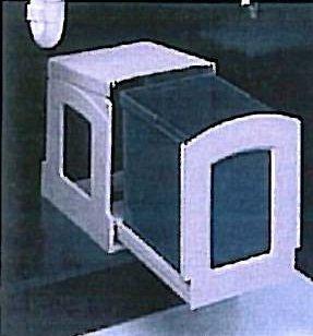 Abfallsammler Einfach Mulltrennung 1 X 18 Liter Domo Sanifix Trolley