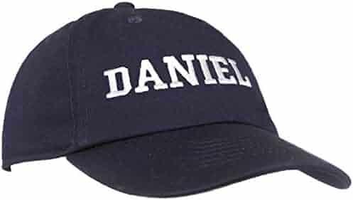 088dcb66 Tiny Expressions - Monogrammed Toddler & Kids Baseball Cap | Adjustable  Navy Hat