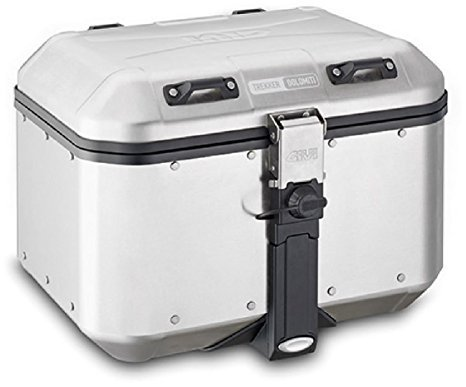 - GIVI DLM46A 46 Liter Monokey Aluminum Top Case