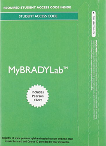 MyBradylab with Pearson eText -- Access Card -- for Emergency Care (Limmer)