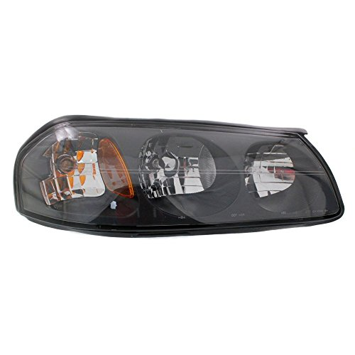 (Headlight Compatible with IMPALA 00-04 RH Composite Assembly Halogen To 2-05-04 w/Bulb(s) Passenger Side)