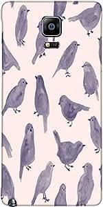 Snoogg Pigeon Pintura Diseñador Protectora Del Caso De La Contraportada Para ...