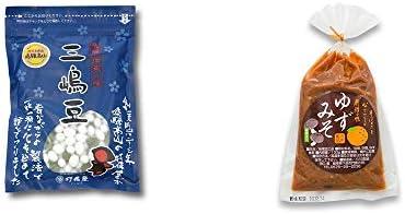[2点セット] 飛騨 打保屋 駄菓子 三嶋豆(150g)・ゆずみそ(130g)
