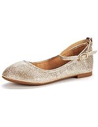 Toddler/Little Kid/Big Kid Sole-Fina-K Girl's Ballerina Flat Shoes