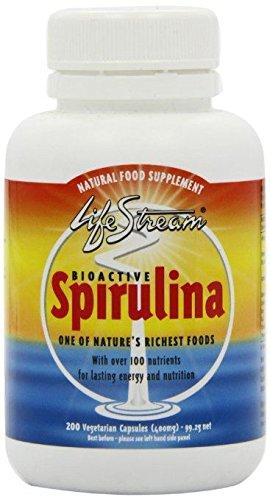 (10 PACK) - Lifestream Bioactive Spirulina 400Mg Capsules | 200s | 10 PACK - SUPER SAVER - SAVE MONEY