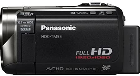 panasonic tm55 full hd camcorder with 8gb inbuilt amazon co uk rh amazon co uk Manual Panasonic Radio Panasonic Viera Manual