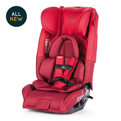 Diono Radian 3RXT Convertible Car Seat, Red