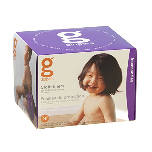 Gdiapers Cloth Liners 98 Count