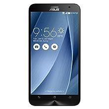 "ASUS ZenFone ZE551ML-6J162WW 32GB 4G Plata - Smartphone (13,97 cm (5.5""), 1920 x 1080 Pixeles, IPS, Intel Atom, Z3580, 4096 MB) (Importado)"