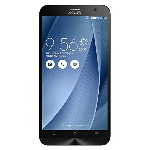 ASUS ZenFone 2 Cellphone 16GB Silver (Unlocked )