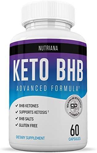 Keto BHB Pills - Cétogènes Keto pour les femmes et les hommes - Sels Keto Supplément Beto - Cétose Keto Supplément Ex cétones Exogènes - Keto Pills 60 Capsules 800 mg