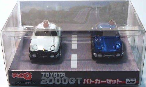 Choro Q TOYOTA2000GT Polizeiwagen-Set (Japan Import / Das Paket und das Handbuch werden in Japanisch)