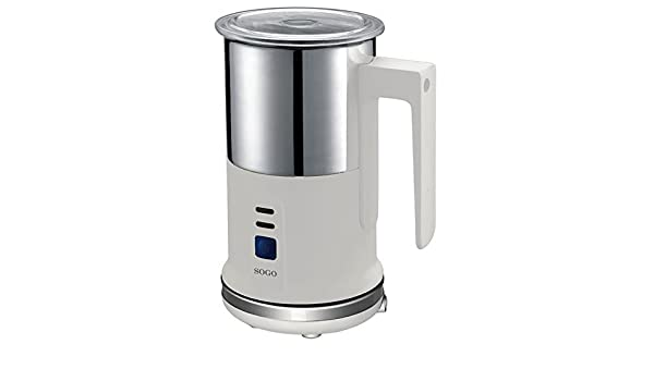 Sogo SS-5607 - Espumador y calentador de leche, color blanco: Amazon.es: Hogar