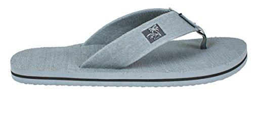 Panama Jack Mens Casual Beach Flip Flop Sandals Gry ZhzCOBeQ
