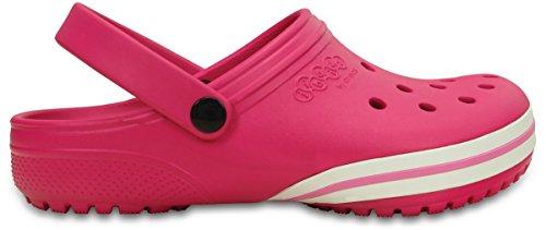 Crocs Unisex kilby Zuecos - Rosa - GB Tallas 4-12