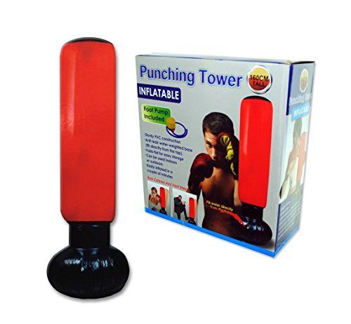 Bulk Buys OB833 Fitness Punching Bag Case of 6