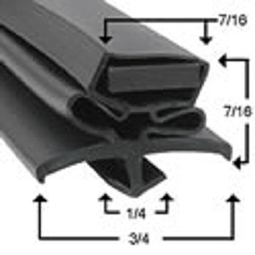 True Refrigeration Gasket # 810812 Sized 23-7/8'' X 25-5/16'' For True Unit Model #TUC-60-32F-HD