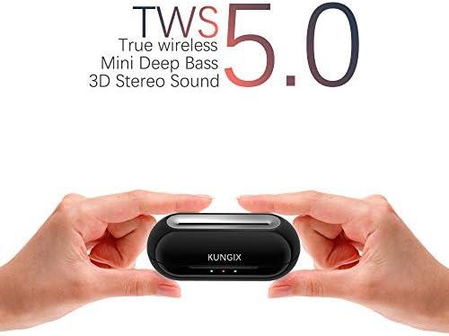 KUNGIX Headphones Cancelling Sweatproof Microphone product image