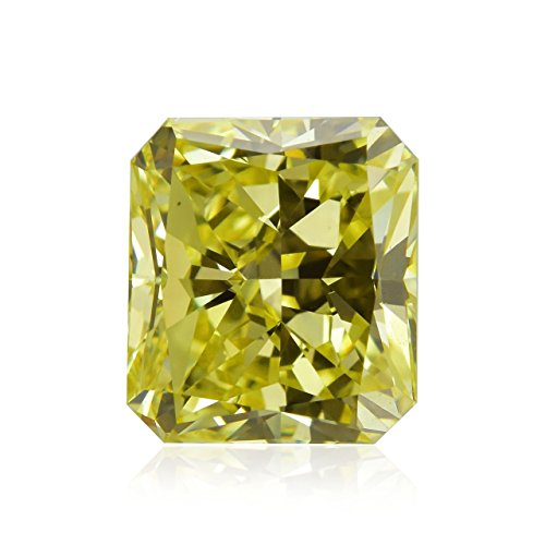 1.22 Carat Fancy Intense Yellow Loose Diamond Natural Color Radiant Cut GIA - Ct Radiant 1.22 Diamond