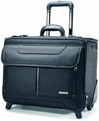Samsonite Wheeled Catalog Case, 17-1/4 x 7-1/2 x 13 Inches, Black (458311041)
