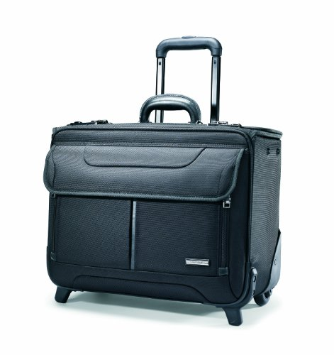 - Samsonite Luggage Wheeled Catalog Case, Black