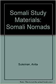 Amazon.com: Somali Study Materials: Somali Nomads (9781874209201