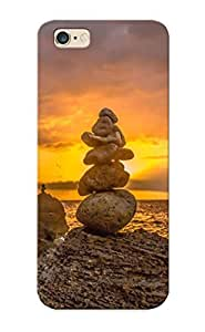 New Rocks Stones Sunset Stacked Stack Shore Tpu Case Cover, Anti-scratch Standinmyside Phone Samsung Galaxy Note4