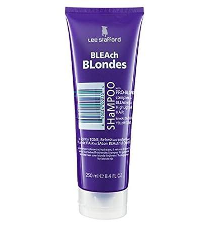 Amazon Com Lee Stafford Bleach Blondes Shampoo 250ml Hair