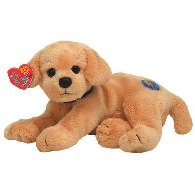Ty Beanie Babies 2.0 Fletch Cover Dog (Laying)