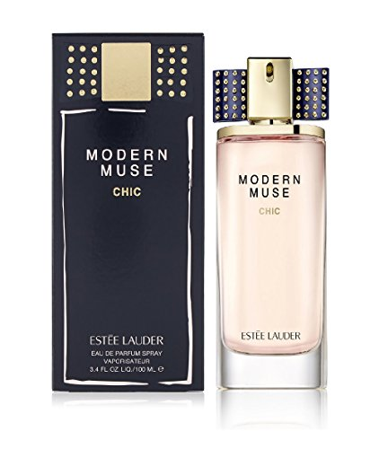 Estee Lauder Modern Muse Chic Eau de Parfum Spray, 3.4 Fluid Ounce - Chic Fragrance