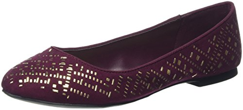 Aldo Damen Paessa Geschlossene Ballerinas Red (Bordo / 40)