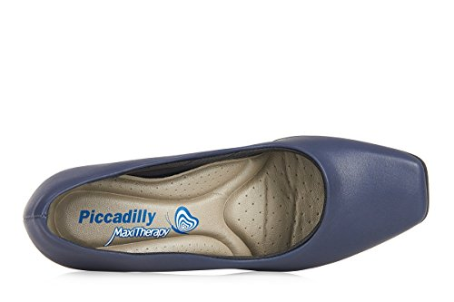 Piccaddilly 789006 Crew Shoe/Cabin Shoe with Padded Insole for Extra Comfort Navy Blue JkHXTnE8yM