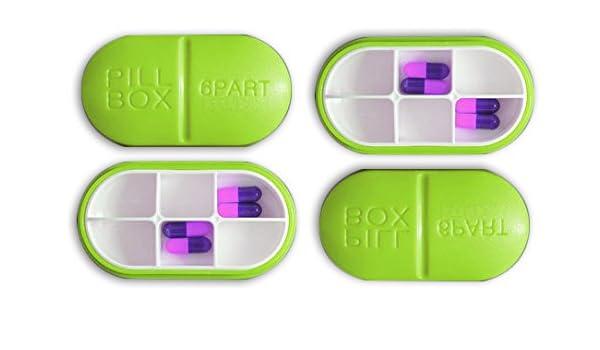 Amazon com: LifePlus Deep Pill Box Pill Organizer Pill Case